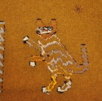Image of Tablecloth - Underside cat motif