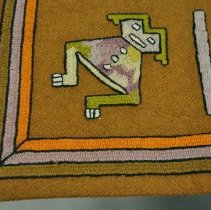 Image of Tablecloth - Human figure motif
