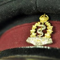 Image of Cap, Military - Badge detail