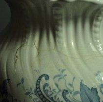 Image of Pitcher - Left side neck detail
