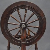 Image of Back of the Drive Wheel (Irish Castle Wheel)