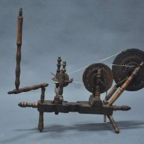 Image of Frontal View of Turkish Hand Wheel & Distaff