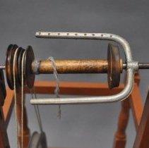 Image of Cast Metal Flyer & Wooden Bobbin
