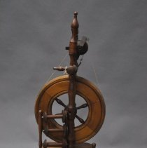 Image of Frontal View of Wee Peggy Spinning Wheel