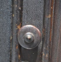 Image of Right Door Knob and Keyhole of the Sideboard