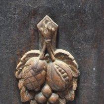 Image of Decor on Cupboard Door of the Sideboard