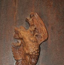 Image of Upside Down Dead Bird Motif