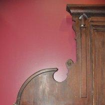 Image of Left Bracketed Shelf of the Sideboard