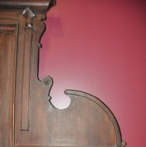 Image of Right Bracketed Shelf of the Sideboard