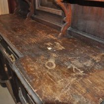 Image of Top Surface of the Queen's Hotel Sideboard