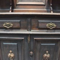 Image of Central Side-by-Side Drawers of the Sideboard