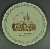 Image of Plate, Commemorative - front