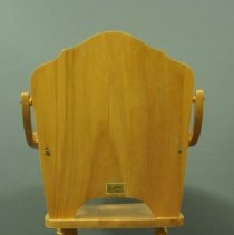 Image of Highchair - back