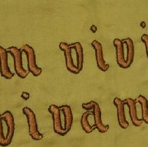 Image of Detail of lettering