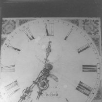 Image of Clock Face (1970s Black & White view)