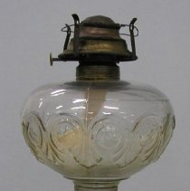 Image of Full view of the kerosene lamp