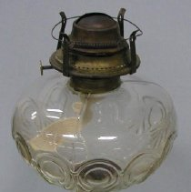 Image of Kerosene Lamp with thumb wheel to left