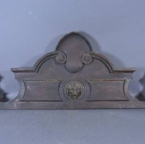 Image of Top of backboard - Front view