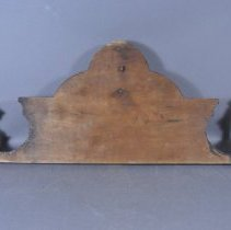 Image of Top of backboard - Back view