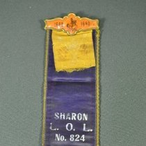 Image of 2005.023.001 - Ribbon, Fraternal