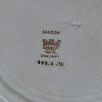 Image of Detail of maker's mark