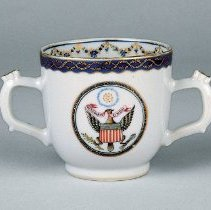 Image of R1967.1.223.1 - Cup, Double Handled