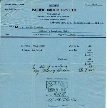 Image of A13 - Receipt