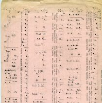 Image of A116 - Music, sheet