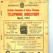 Image of A306 - Directory, Telephone