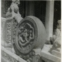 Image of Joe Vater-Temple detail - Print, Photographic