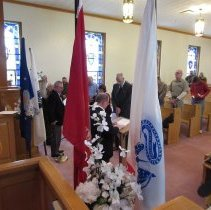 Image of Invocation by Jeff Cionni of Wellsburg Elks Lodge.