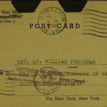 Image of William Perilman-Swimming - Postcard