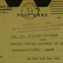 Image of William Perilman-Barmitzv - Postcard