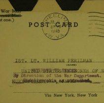 Image of William Perilman-July 5th - Postcard