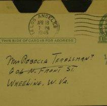 Image of William Perilman-Rebecca - Postcard