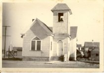 Image of Print, Photographic - Church on the corner of what is now High Street (formerly Shell Road) and Miller Avenue in Bivalve.