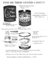 Image of Find Me These Oyster Cans