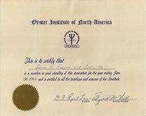 Image of Membership certificate