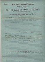Image of Bill of Sale for ALERT