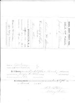 Image of Bill of Sale Sloop MARY ALICE