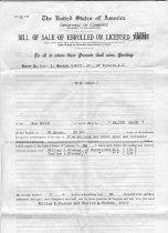 Image of Bill of Sale for WALTON GRACE