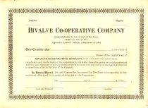 Image of Blank Bivalve Co-operative Cer