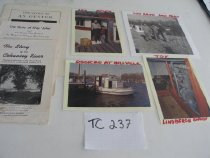 Image of Print, Photograph - Four photos of the oyster work boat LINDBERGH