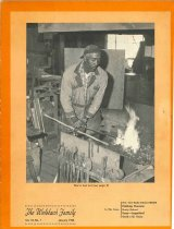 "Image of - Article ""William Banks Blacksmith at Stowman"" in THE WELLSBACH FAMILY booklet volume 10,  No. 1  January 1964 page 5"