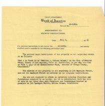 Image of Escrow amendment