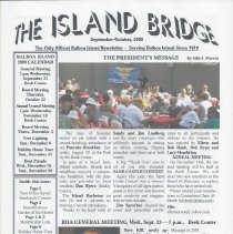 Image of September/October 2009 edition of the Island bridge