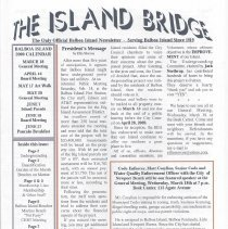 Image of March/April 2009 edition of the Island Bridge