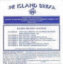 Image of Oct/Nov 1998 edition of The Island bridge