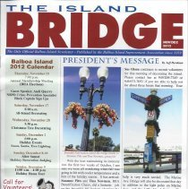 Image of Nov/Dec issue of The Island Bridge