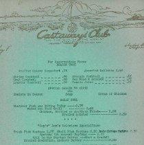 Image of castaway menu 2